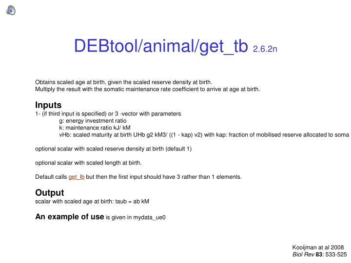 DEBtool/animal/get_tb