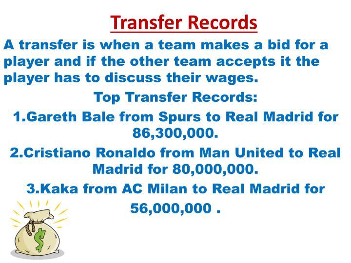 Transfer Records