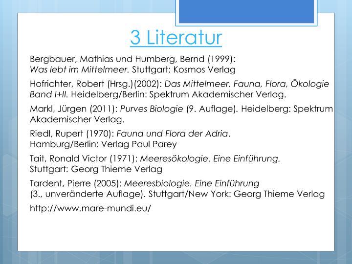 3 Literatur