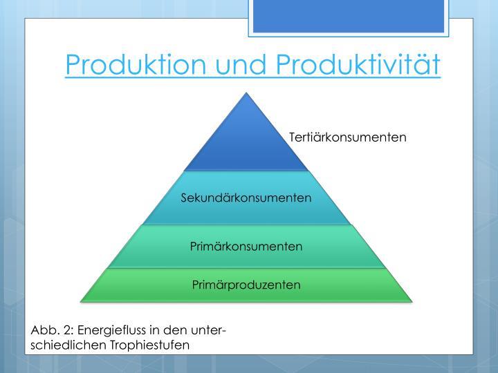 Produktion und Produktivität