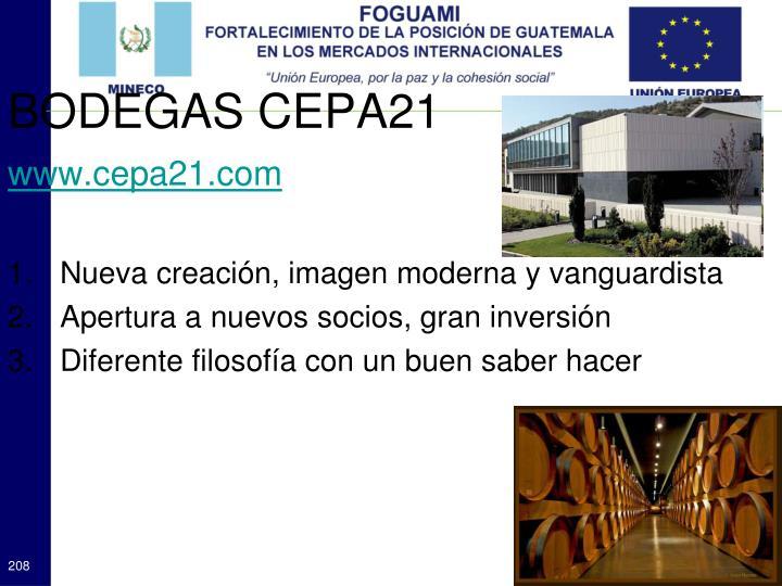 BODEGAS CEPA21