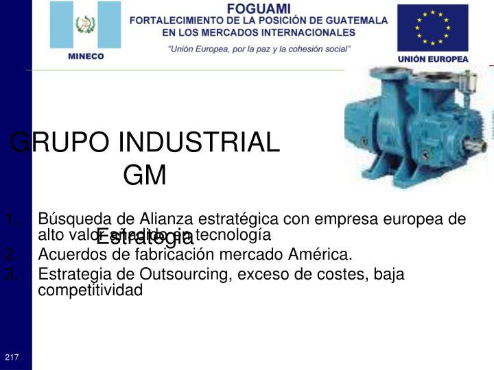 GRUPO INDUSTRIAL GM