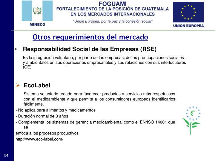 Responsabilidad Social de las Empresas (RSE)