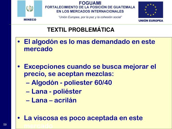 TEXTIL PROBLEMÁTICA