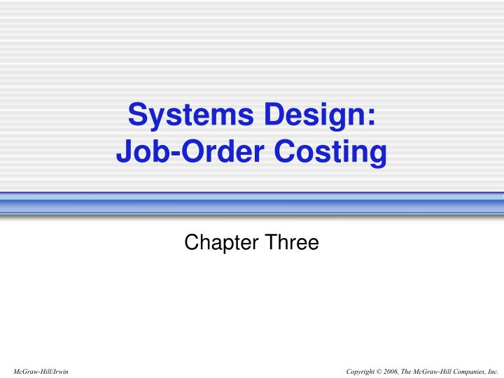 Systems Design: