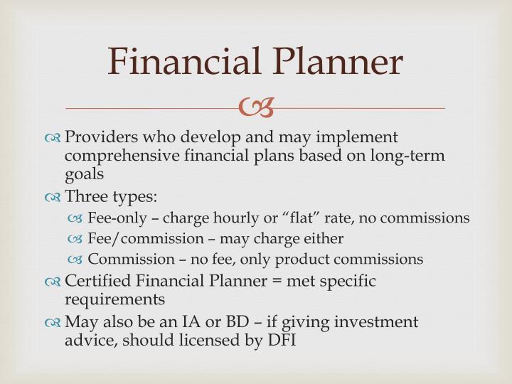 Financial Planner
