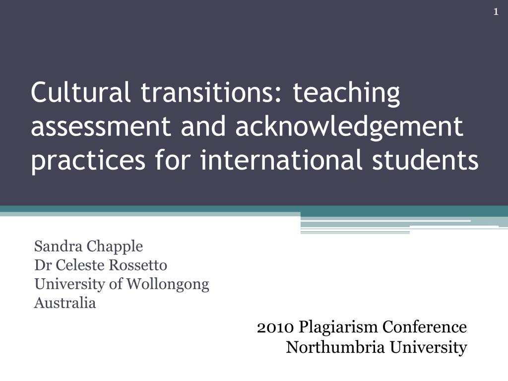 Ppt Cultural Transitions Teaching Assessment And Acknowledgement Practices For International Students Powerpoint Presentation Id 5473594 It requires planning specific ways to use assignments and discussions to discover what students do and do not. slideserve