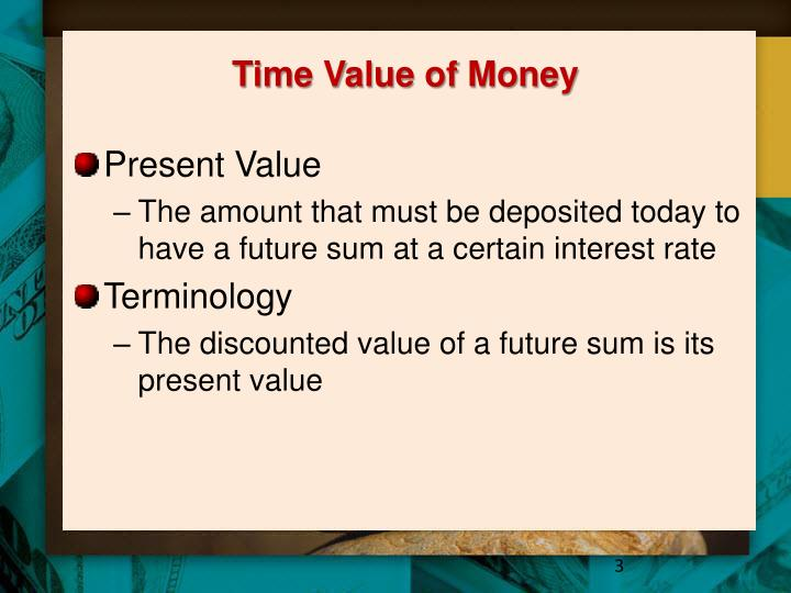 Time value of money1