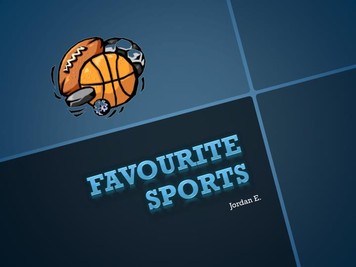 favourite sports n.