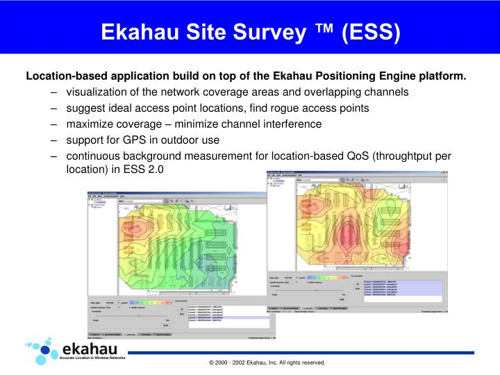 Ekahau Site Survey Tutorial