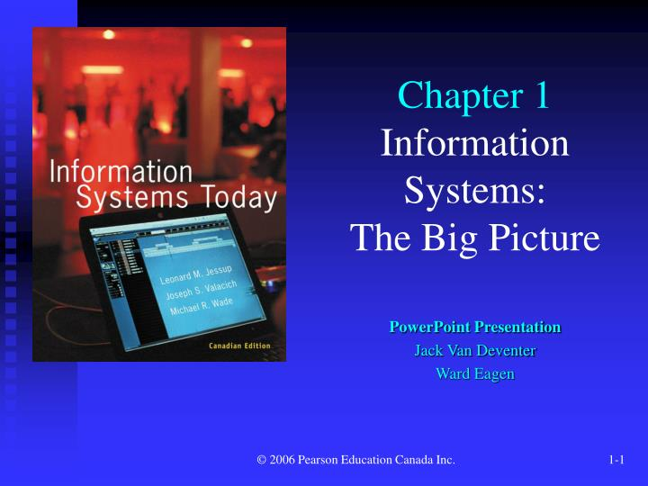 chapter 1 information systems Management information systems chapter 1 information systems in global business today 1) internet advertising is growing at approximately 10 percent a year answer: true 2) developing a new product, fulfilling an order, and hiring a new employee are examples of business processes.