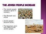 the jewish people increase