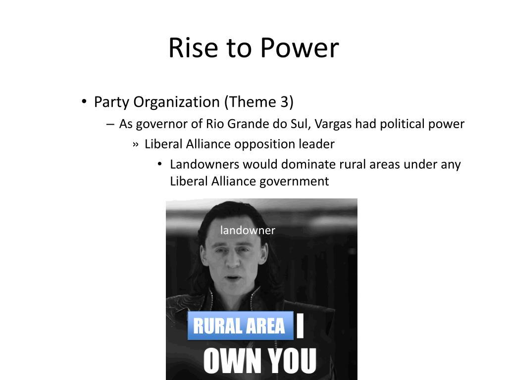 PPT - Getulio Vargas (1930-1945) PowerPoint Presentation