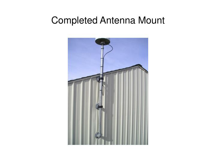 Completed Antenna Mount