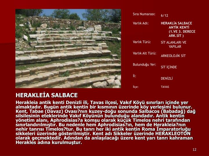 HERAKLEİA SALBACE