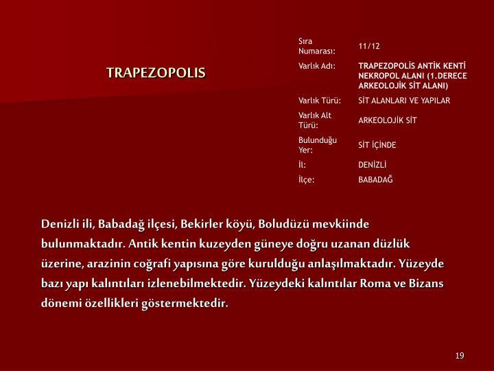 TRAPEZOPOLIS