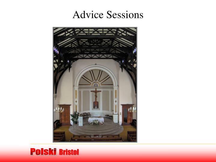 Advice Sessions