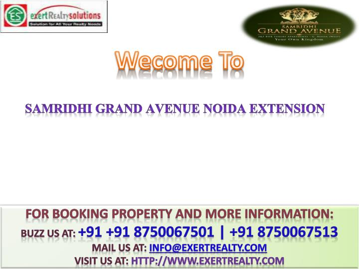 samridhi grand avenue noida extension n.