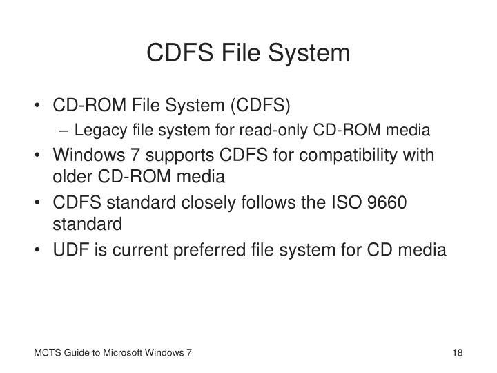 CDFS File System
