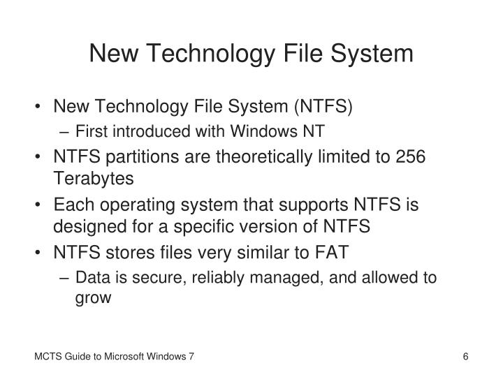 New Technology File System