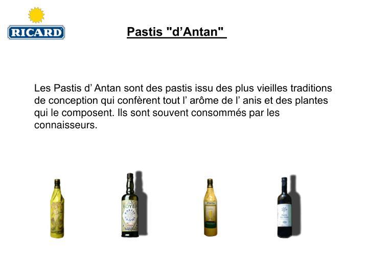 """Pastis """"d'Antan"""""""
