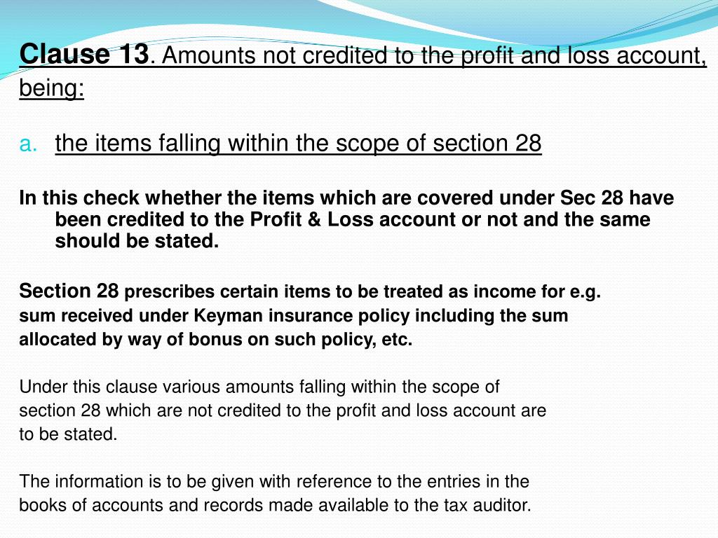 PPT - Tax Audit under section 44AB of Income Tax Act, 1961