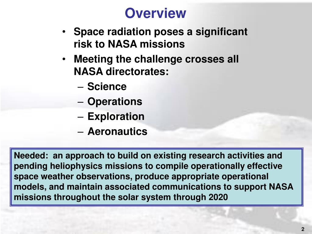 PPT - Study Sponsor - NASA Office of the Chief Engineer ...