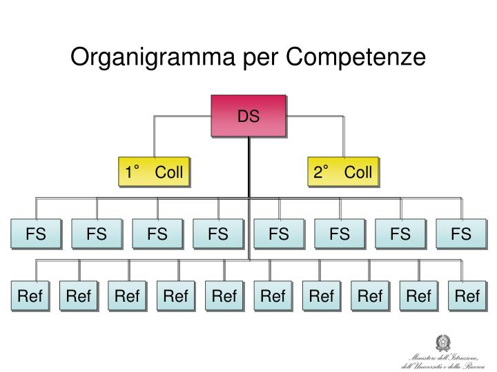 Organigramma per Competenze