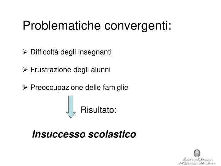 Problematiche convergenti: