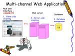 multi channel web application