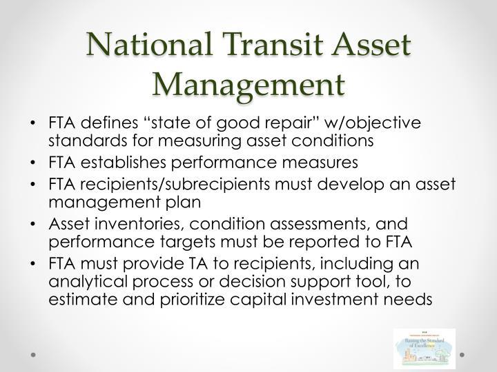 National Transit Asset Management