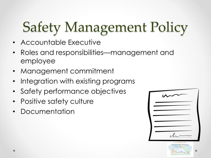 Safety Management Policy