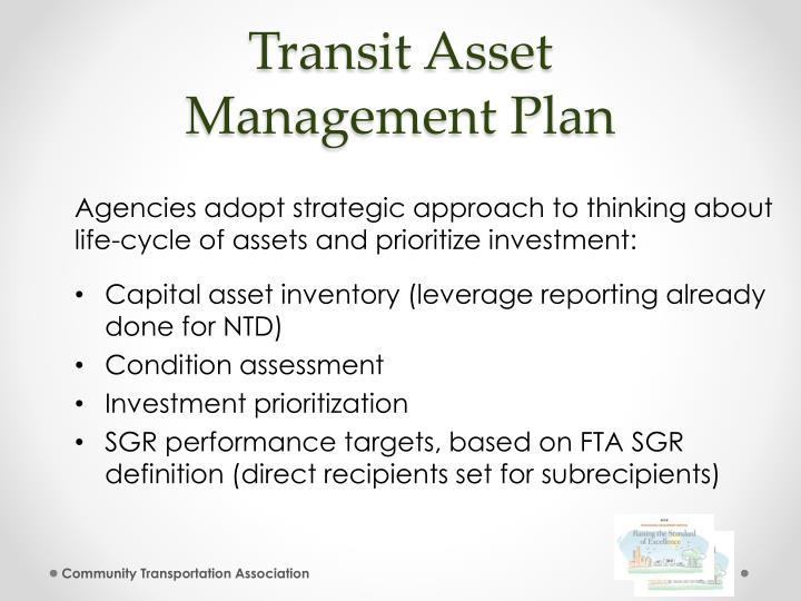 Transit Asset