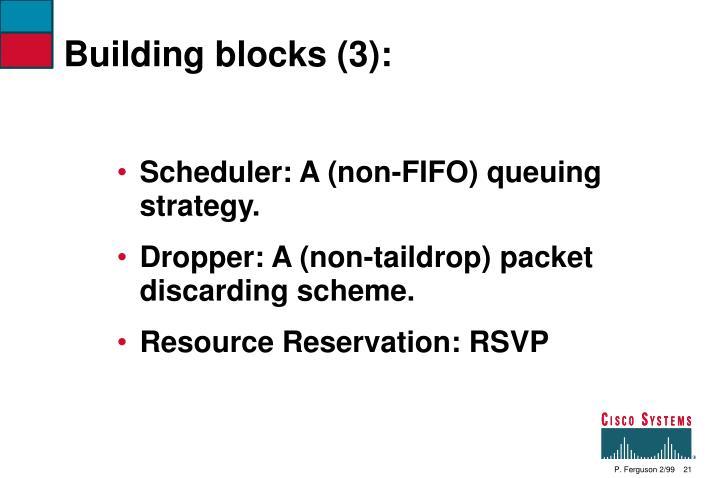 Building blocks (3):