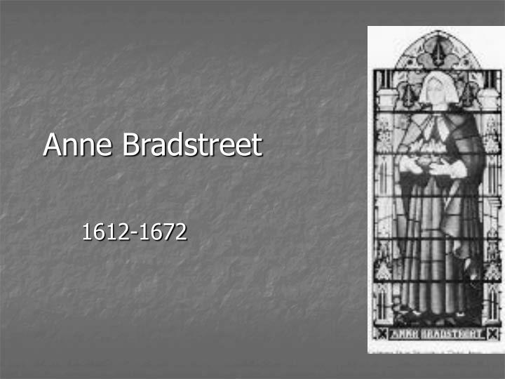 essay analyzing anne bradstreet s author her book focuses Intro to anne bradstreet's the author to her book with quotation from emerson's essay and turn it how to do it well without over analyzing the book.