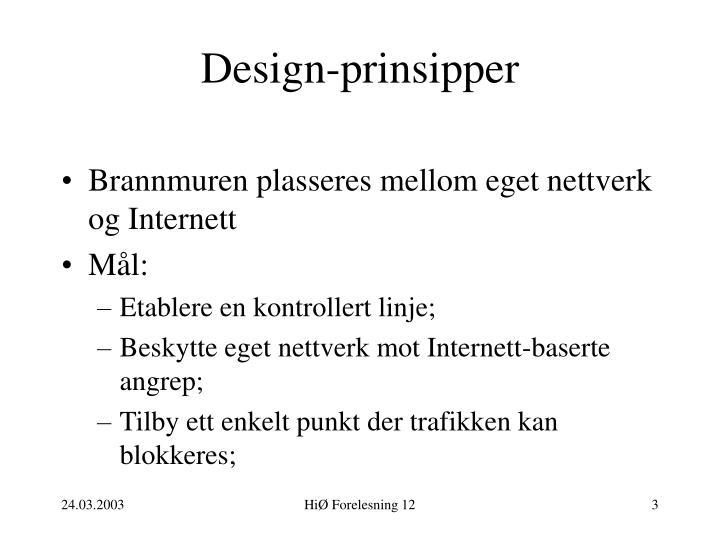 Design prinsipper