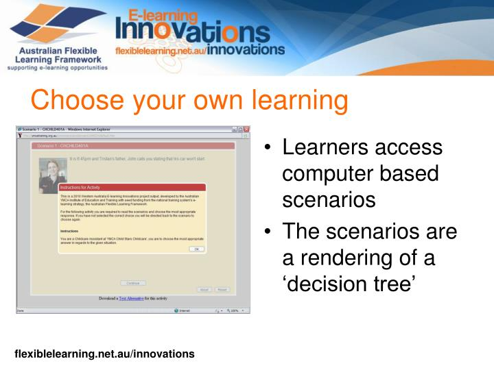 Choose your own learning