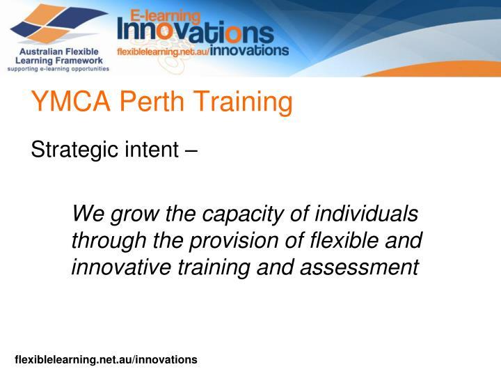 Ymca perth training