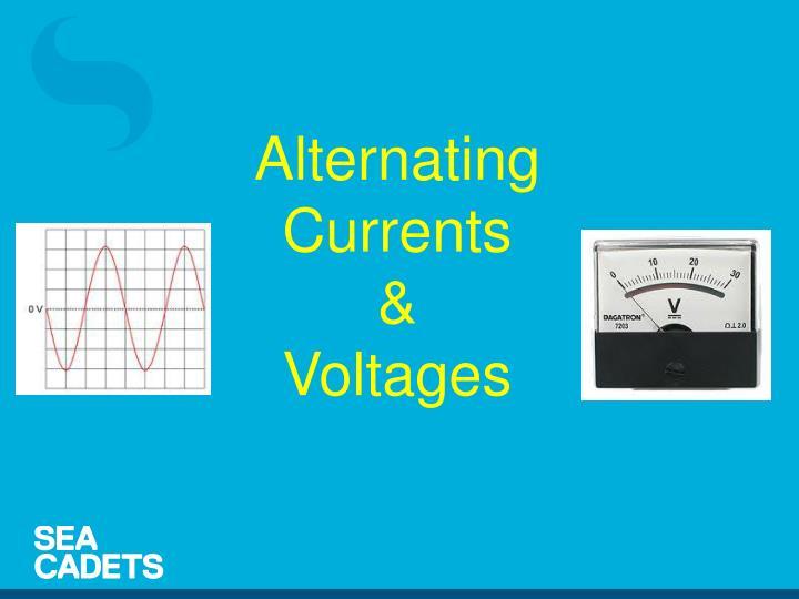 Alternating Currents