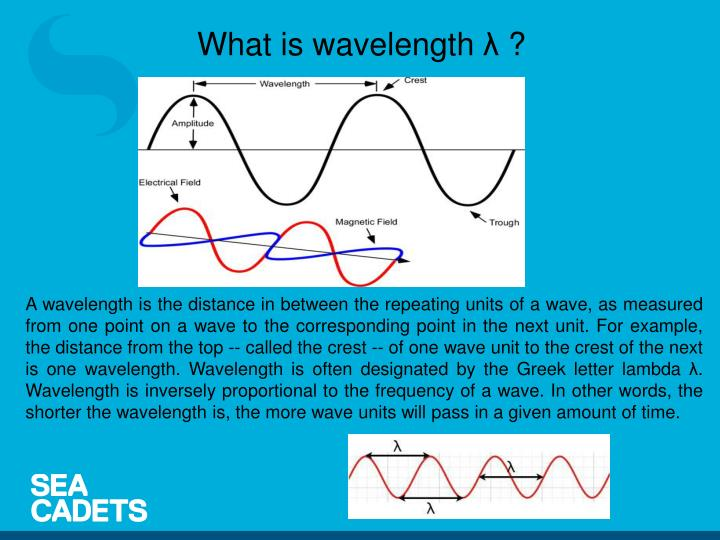 What is wavelength