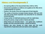 history and developments 21