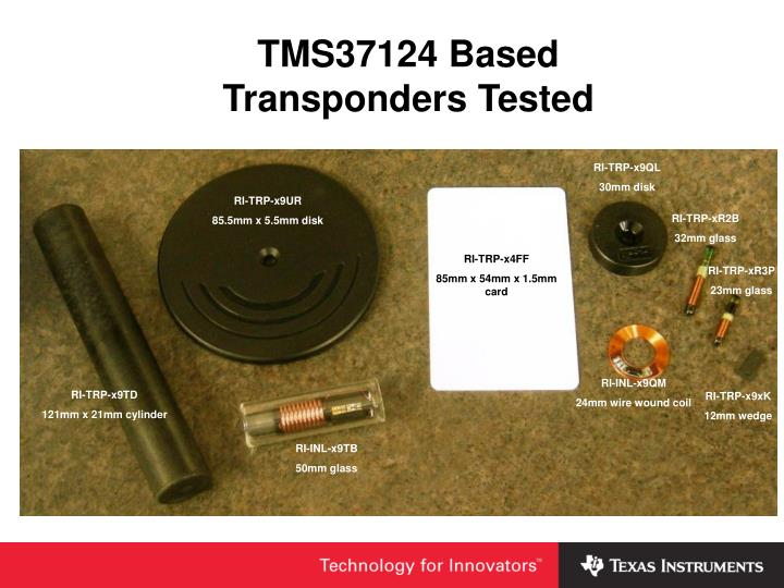 TMS37124 Based