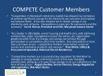 compete customer members
