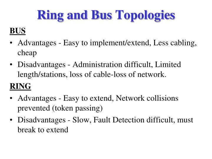 Ring and Bus