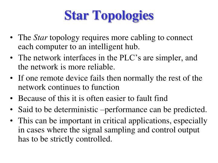 Star Topologies
