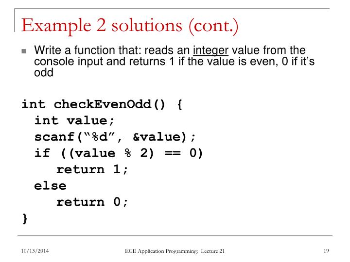 Example 2 solutions (cont.)
