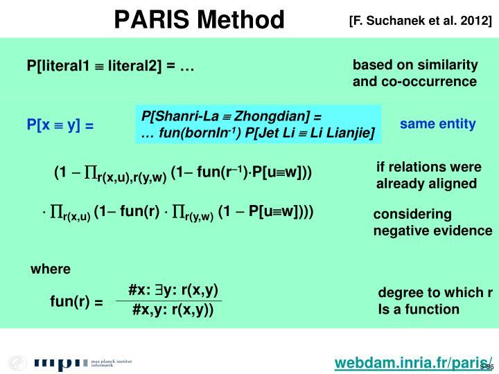 PARIS Method