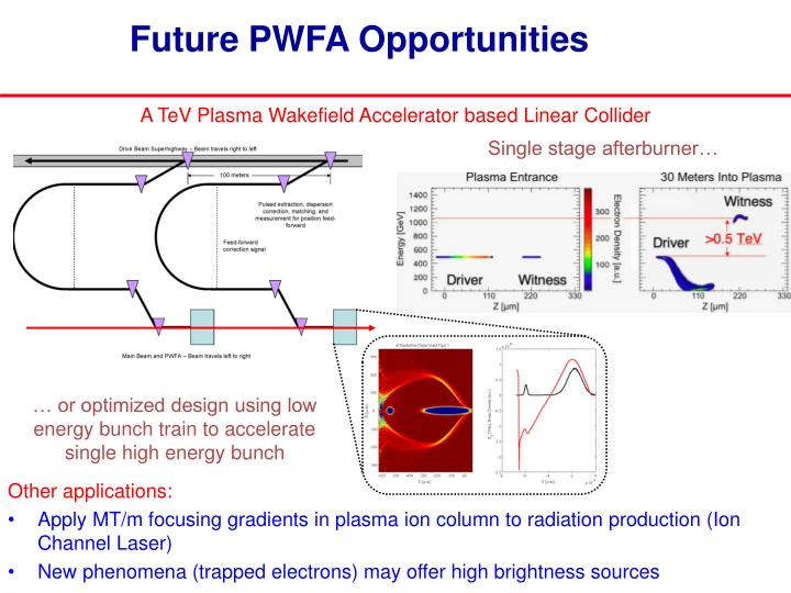 Future PWFA Opportunities