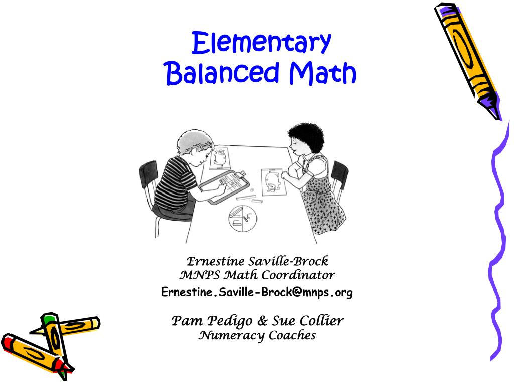 PPT - Ernestine Saville-Brock MNPS Math Coordinator Ernestine