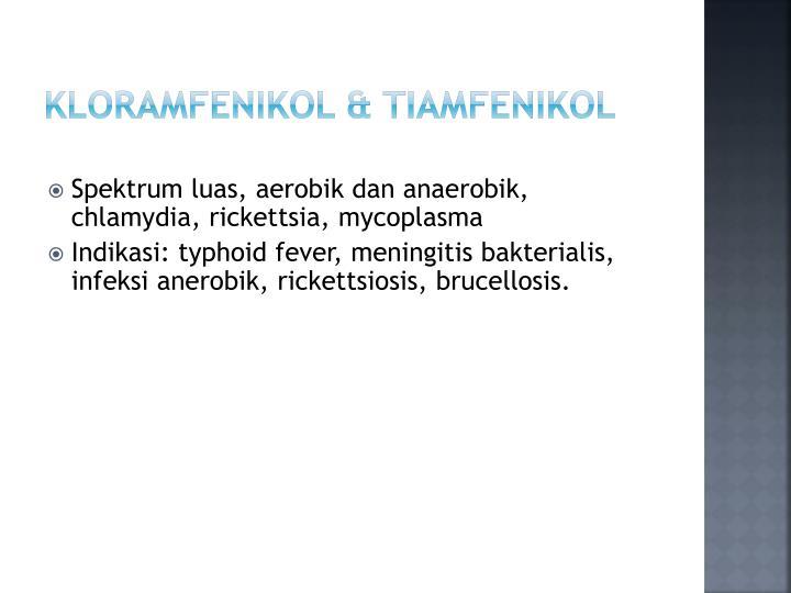 Kloramfenikol & Tiamfenikol